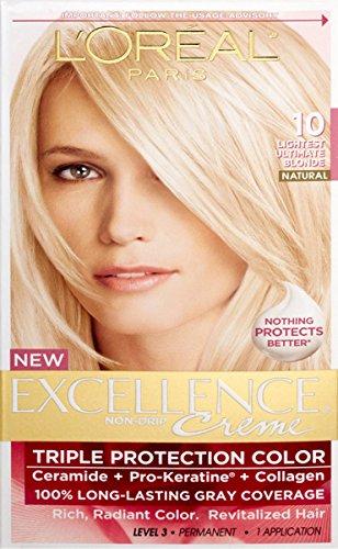 L'Oreal Paris Excellence Creme Pro - Keratine Hair Color - 1...