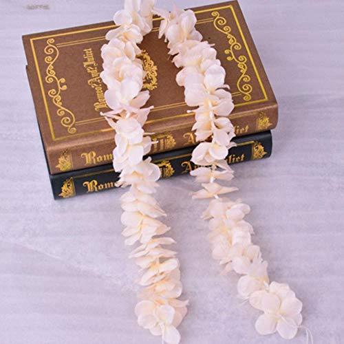 100cm kunstmatige kersenbloesem wijnstok zijden bloemen sakura voor feest bruiloft plafond decor nep garland boog klimop diy party decor, champagne