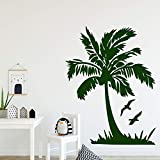 Coconut Removable Pvc Wall Stickers For Kids Room Decoration Sticker Mural House...