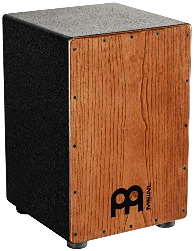 Meinl Percussion HCAJ1AWA Headliner Series String Cajon, Frontplatte: Stained American White Ash,...