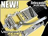 Vibramate V5-TEV Telecaster Adaptor Mounting Kit, For Bigsby B5, Aluminum