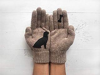 Valentine's Day Gift, Dog Gloves, Animal Gloves, Woman Gift For Valentine's Day