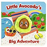 Little Avocado's Big Adventure Finger Puppet Board Book, Gifts for Birthdays, Baby Showers, Little Adventurers, Preschoolers, and More! Ages 1-4