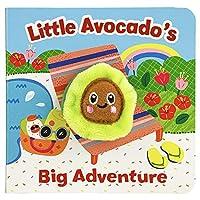 Little Avocado's Big Adventure (Finger Puppet Board Book)