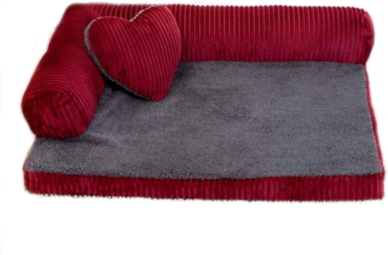 Pet Nest Dog Sofa Large and Medium Dog Bed (Size   S)