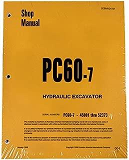 Komatsu PC60-7 Excavator Workshop Repair Service Manual - Part Number # SEBM004101