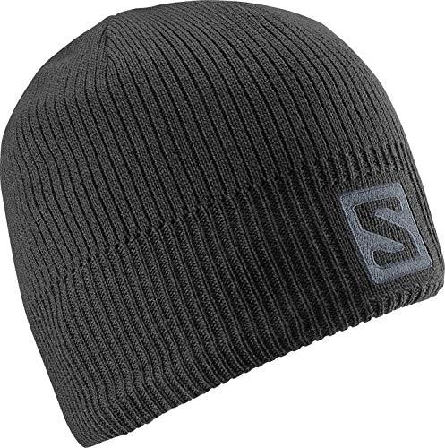 Salomon Logo Beanie Bonnet Pour Entrainements Running Randonnées Chaud Et Confortable Unisexe