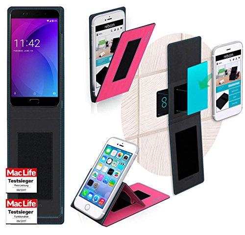 reboon Hülle für Allview X4 Soul Lite Tasche Cover Case Bumper | Pink | Testsieger