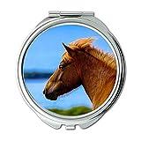 Mirror,makeup mirror,animal animal photography blur,pocket mirror,portable mirror