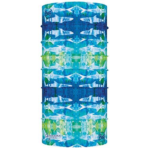 Buff CoolNet UV+ Alexandra Nicole Headwear,One Size,Tie Dye Sharks
