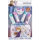 Disney Frozen 5-Piece Kids Lip Balm Tin Stocking Stuffer Gift Set Featuring Anna & Elsa