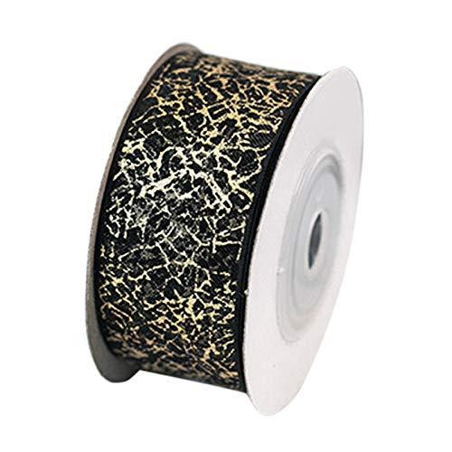 Lanceasy Ribbon Swirl Wired Sheers Glitter Ribbon DIY hecho a mano Headwear