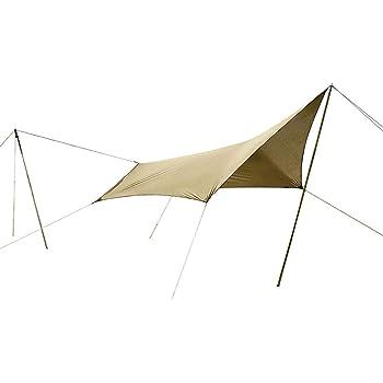 ogawa(オガワ) タープ 五角形タイプ システムタープ ペンタ3×3 [3m×3m] 3337 ブラウン