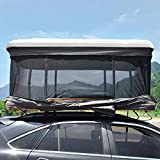 EDECO Hard Shell Roof Top Tent for Cars Trucks Suvs, Mobile Travel Pop Up Family Rooftop Tent, Rainproof Tent...