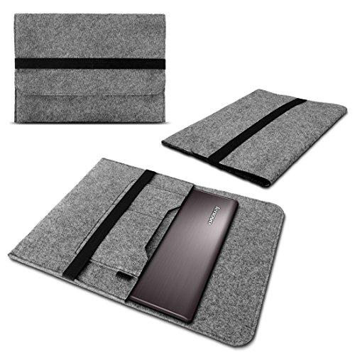 NAmobile Schutzhülle kompatibel für Lenovo Yoga C930 900 900S 910 510 520 710 720 Tasche Hülle Filz Hülle