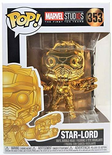 Pop! Marvel Studios 10th - Figura Star-Lord Chrome Exclusive
