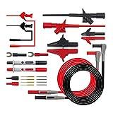 1 Set 24 piezas Pinzas cocodrilo Kit P1300E multifunción multímetro reemplazable kits de cables de prueba de la sonda