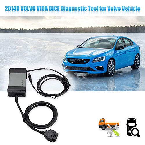 Shentesel 2014D Vida Dice OBD2 Fault Code Reader Car Auto Diagnostic Scan Tool for Volvo