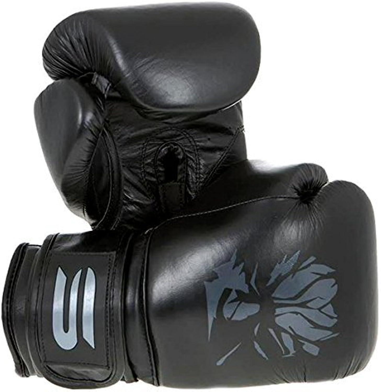 Spirit Pitch schwarz Leder Boxhandschuhe B01F58FXBW  Angenehmes Angenehmes Angenehmes Aussehen b66c84