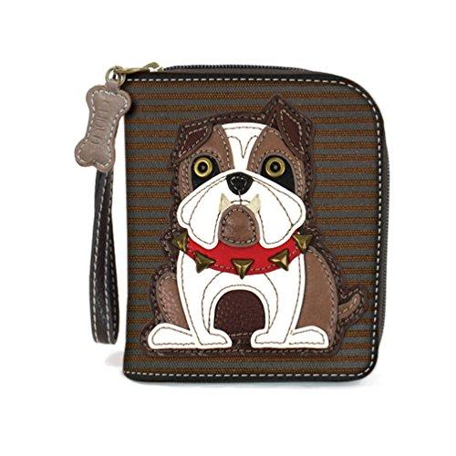 Chala Pal Zipper Wallet Collection (Bulldog)