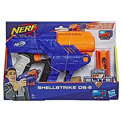 Hasbro Nerf Elite Shellstrike Ds 6