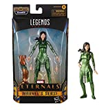 Hasbro Marvel Legends Series The Eternals 6-Inch Action Figure Toy Marvel's Sersi, Movie-Inspired Design, Includes 2 Accessories, Ages 4 and Up