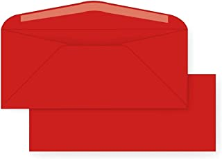 #10 Regular Envelope - 24 Pound Reentry Red (4 1/8 x 9 1/2) (500)