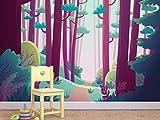 Oedim Papel Pintado para Pared Infantil Princesas   Fotomural para Paredes   Mural   Papel Pintado  350 x 250 cm   Decoración comedores, Salones, Habitaciones
