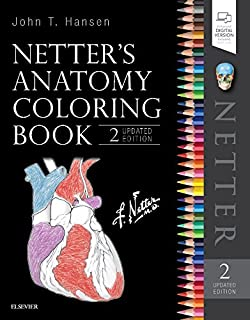 Netter's Anatomy Coloring Book Updated Edition (Netter Basic Science)
