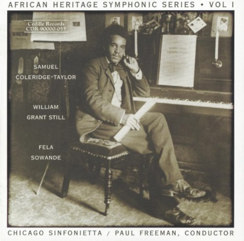African Heritage Symphonic Series, Vol. 1 by Cedille Records (2010-09-14)