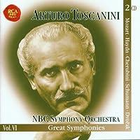 Great Symphonies - Mozart: No. 40 / Haydn: No. 94 / Cherubini: in D major / Schumann: No. 3 / Dvorak: No. 9 (Toscanini Legacy, Vol. 6)