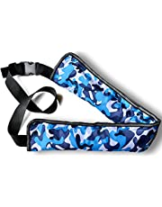 SuperSunny ライフジャケット 手動/自動膨張式 ベルトタイプ 全9色 CE認証取得済