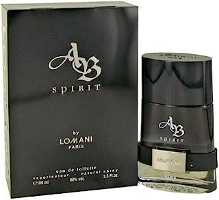 Lomani Ab Spirit Eau de Toilette Spray for Men 3.3 Ounce