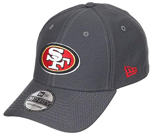 New Era San Francisco 49ers NFL Hex Tech 39thirty Stretch Cap L-XL (7 1/8-7 5/8)