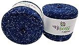 ReTwisst 2 ovillos de hilo textil (aprox. 1600-1800 gramos), hilo para camiseta, 2 x...