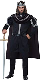 California Costumes Men's Dark Monarch - Adult Costume Adult Costume, Black/Silver, Small