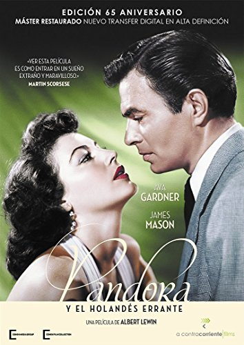 Pandora y el holandés errante (DVD o Blu-ray)