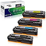 SINOPRINT Compatible Toner Cartridge Replacement for HP 131X 131A CF210X 131 CF211A CF212A CF213A 131 for HP Laserjet Pro 200 Color M251nw M251n M276n M276nw Toner (Black Cyan Magenta Yellow 4-Pack)