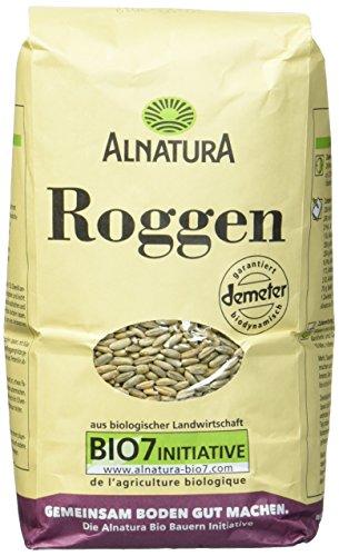Alnatura Demeter Bio Roggen, 6er Pack (6 x 1 kg)