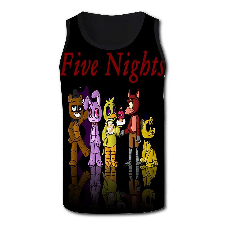 メンズ トップス タンクトップ Five Nights At Freddy Tshirt Tank top スポーツアウトドアエクササイズ タンクトップ