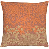 APELT Tilda_40x40_60 Kissenhülle, Polyester, orange, 40 x 40 x 0.5 cm