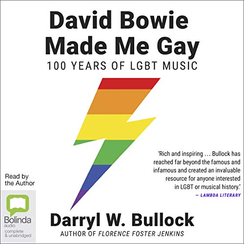『David Bowie Made Me Gay』のカバーアート