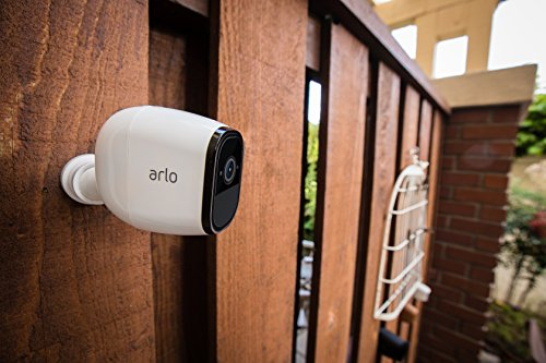 Arlo Pro - Wireless Home Security Camera System with Siren   Rechargeable, Night vision, Indoor/Outdoor, HD Video, 2-Way Audio, Wall Mount   Cloud Storage Included   3 camera kit (VMS4330)