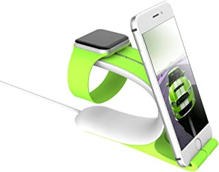 LOCA 2-in-1 Smart Watch Charging Holder Combine with Apple iWatch 1/2 & Sturdy Stand for iPhone, iPad All Edition