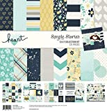 Simple Stories Collection Kit 12'x12'-heart