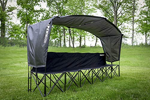 Kwik Goal Bench Shade, Black
