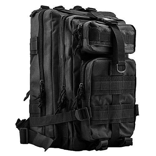 Taktischer Einsatzführungsrucksack US Assault Pack Cooper Rucksack in vielen Farben (Schwarz)