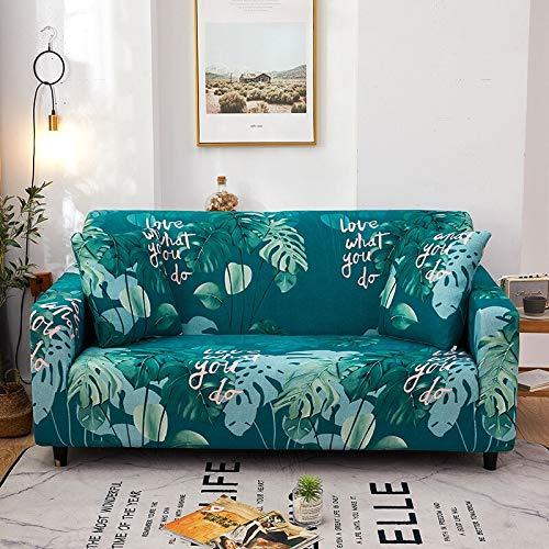 Funda de sofá geométrica para Sala de Estar, sofá de Esquina seccional elástico Moderno, Funda Protectora para sofá, Protector de Silla A10, 4 plazas