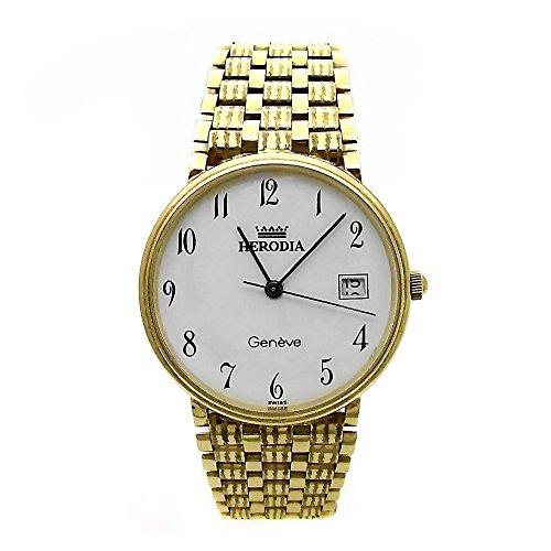 Reloj Herodia Oro 18K Hombre Panter Rayado 6412-1 [Ab3894] - Modelo: 1647976
