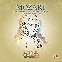 Concerto for Horn & Orchestra No. 1 in D Major K.